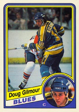 1984 O-Pee-Chee Doug Gilmour #185 Hockey Card