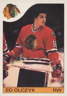 1985 O-Pee-Chee Ed Olczyk #86 Hockey Card