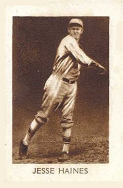 1928 1928 Star Player Candy Jesse Haines #33 Baseball Card