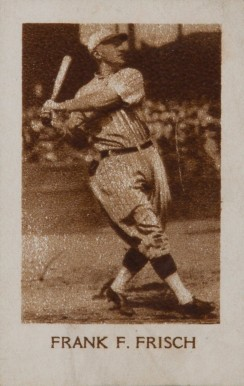 1928 1928 Star Player Candy Frank T. Frisch #22 Baseball Card