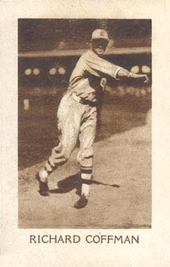 1928 1928 Star Player Candy Dick Coffman #11 Baseball Card