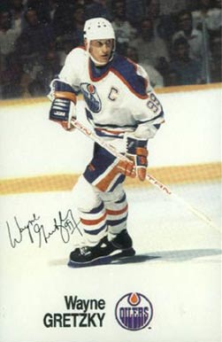 1988 Esso NHL All-Stars Wayne Gretzky #15 Hockey Card