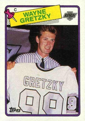 1988 Topps Wayne Gretzky #120 Hockey Card