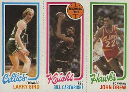 1980 Topps Larry Bird #15 Basketball Card