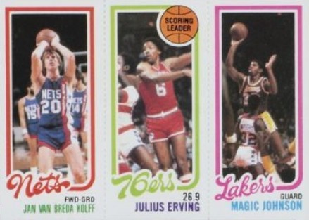 1980 Topps Jan Van Breda Kolff #161 Basketball Card