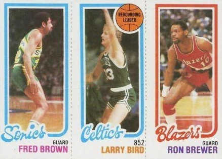 1980 Topps Fred Brown #25 Basketball Card