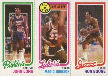 1980 Topps John Long #96 Basketball Card