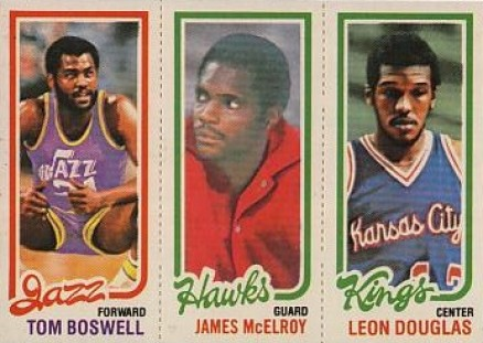 1980 Topps To, Boswell #17 Basketball Card