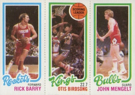 1980 Topps Rick Barry #11 Basketball Card