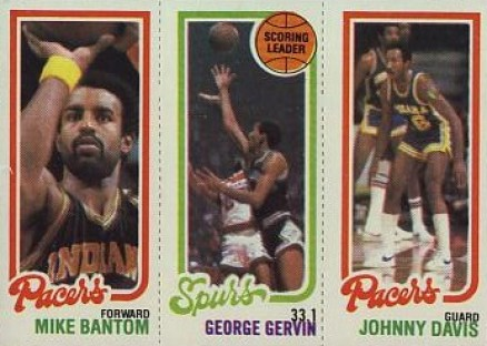 1980 Topps Mike Bantom #10 Basketball Card