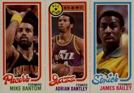 1980 Topps Mike Bantom #9 Basketball Card