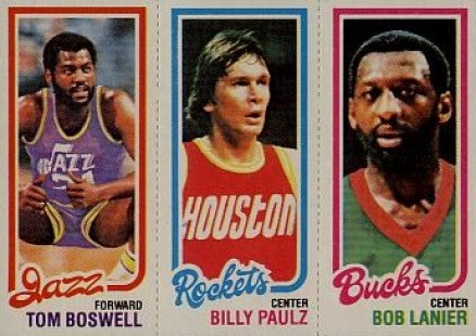 1980 Topps Tom Boswell #18 Basketball Card