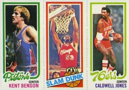 1980 Topps Kent Benson #13 Basketball Card