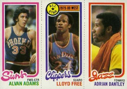 1980 Topps Alvan Adams #6 Basketball Card