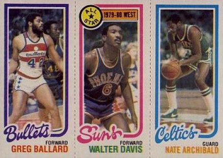 1980 Topps Greg Ballard #7 Basketball Card