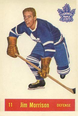 1957 Parkhurst Jim Morrison #11-Mor Hockey Card