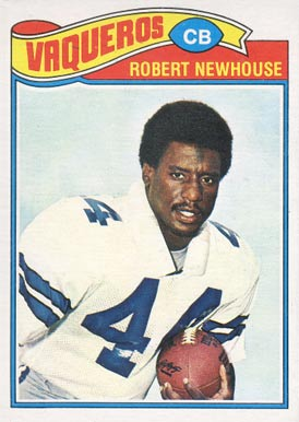 1977 Topps Mexican Robert Newhouse #459 Football Card