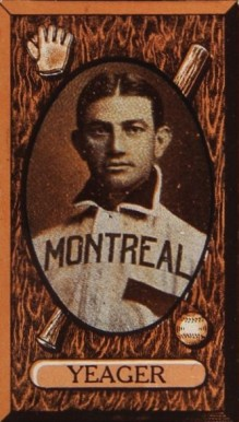 1912 Imperial Tobacco Joe Yeager #84 Baseball Card