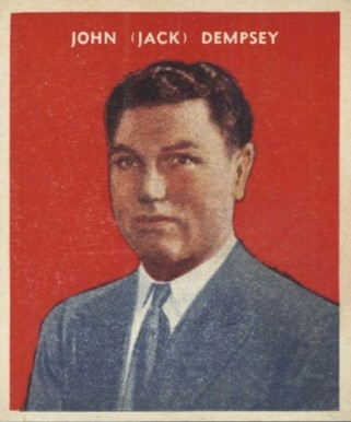 1932 U. S. Caramel Jack Dempsey #22 Boxing & Other Card