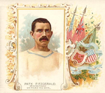 1888 Allen & Ginter Patrick Fitzgerald #19 Boxing & Other Card