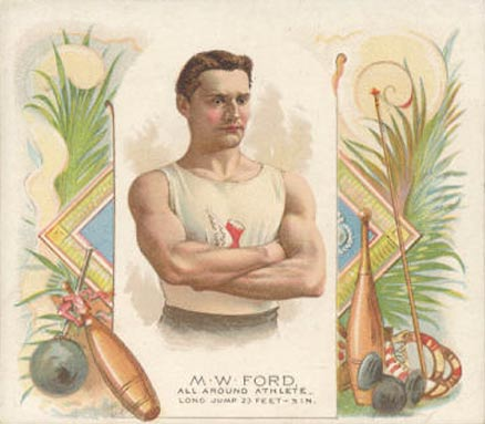 1888 Allen & Ginter M. Ford #18 Boxing & Other Card