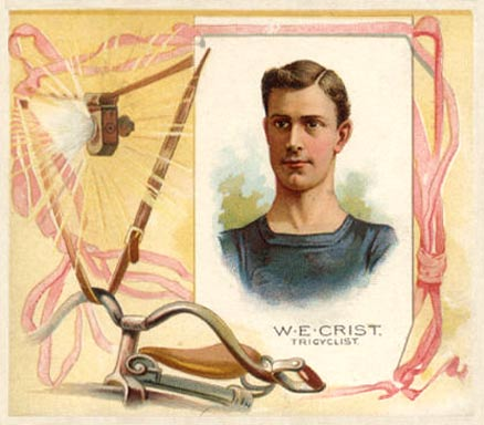 1888 Allen & Ginter W. Crist #8 Boxing & Other Card
