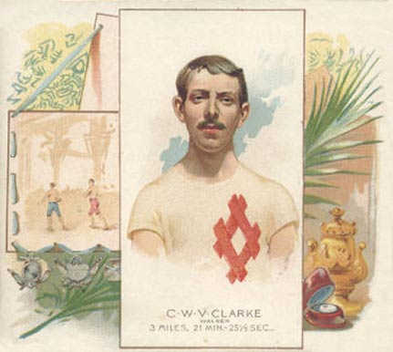 1888 Allen & Ginter C. Clarke #7 Boxing & Other Card