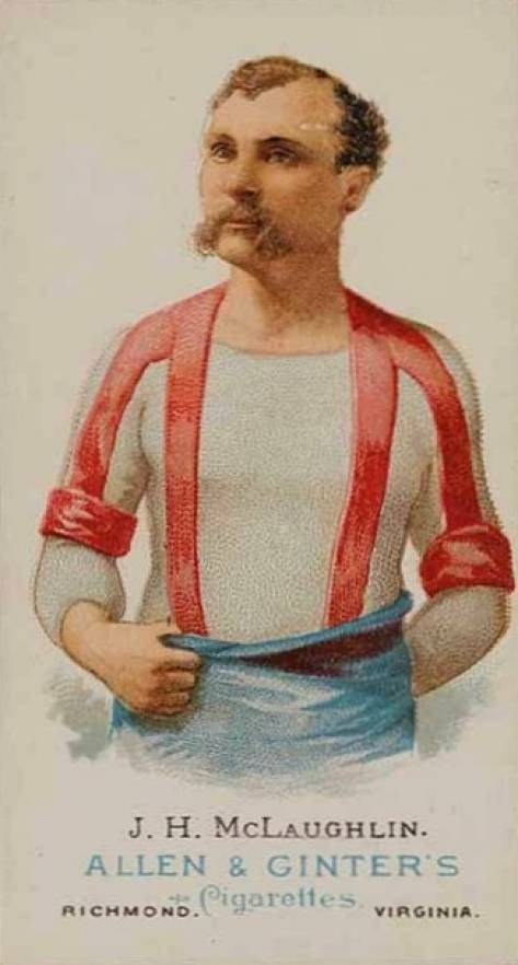 1888 Allen & Ginter J.H. McLaughlin #33 Boxing & Other Card