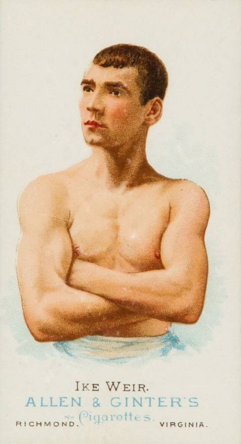 1888 Allen & Ginter Ike Weir #50 Boxing & Other Card