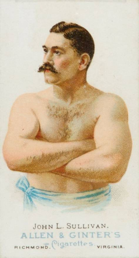 1888 Allen & Ginter John L. Sullivan #45 Boxing & Other Card
