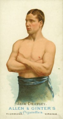 1888 Allen & Ginter Jack Dempsey #18 Boxing & Other Card
