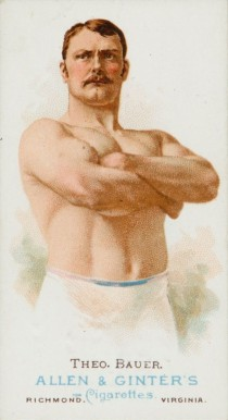 1888 Allen & Ginter Theobaud Bauer #4 Boxing & Other Card
