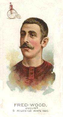 1889 Allen & Ginter Fred Wood #50 Boxing & Other Card