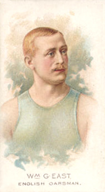 1889 Allen & Ginter William East #14 Boxing & Other Card