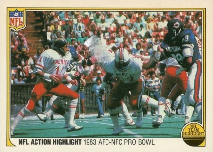 1983 Fleer Team Action   #74 Football Card