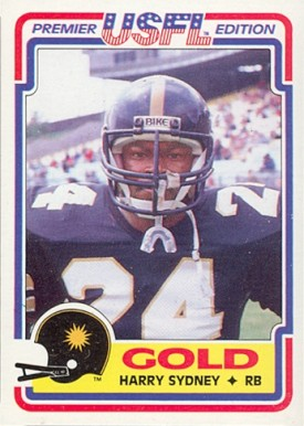 1984 Topps USFL Vincent White #31 Football Card