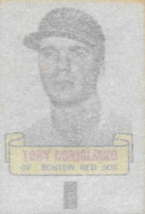 1966 Topps Rub-Offs Tony Conigliaro #21 Baseball Card