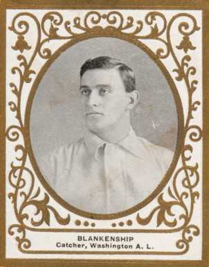 1909 Ramly Cliff Blankenship #13 Baseball Card