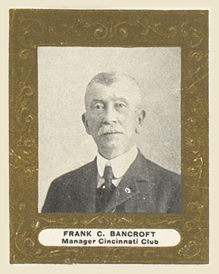 1909 Ramly Frank Bancroft #7Square Baseball Card