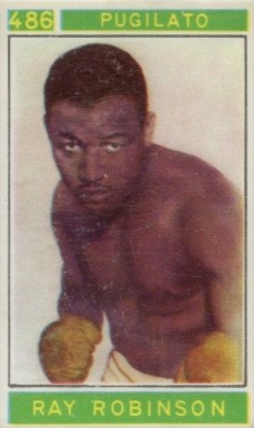 1967 Panini Campioni Dello Sport Ray Robinson #486 Boxing & Other Card