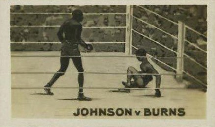 1923 The Rocket jack Johnson #8 Boxing & Other Card