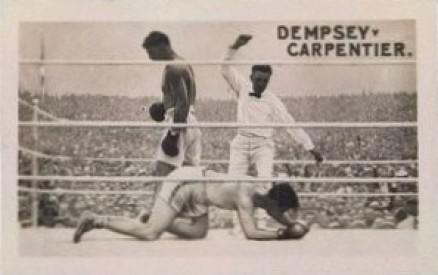 1923 The Rocket Jack Dempsey #6 Boxing & Other Card