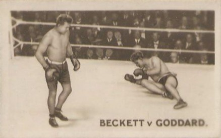 1923 The Rocket Joe Beckett #9 Boxing & Other Card