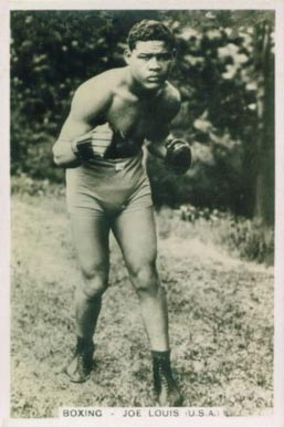 1935 Pattreiouex Joe Louis #56 Boxing & Other Card
