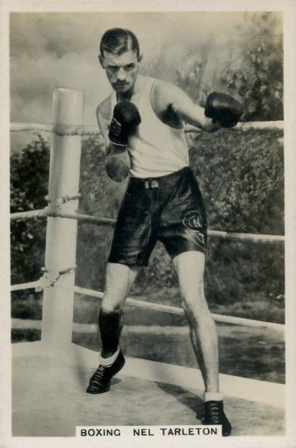 1935 J.A. Pattreiouex Sporting Events & Stars Nel Tarleton #9 Boxing & Other Card