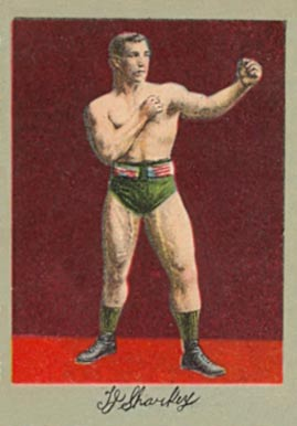 1910 Prizefighters J.J. Sharkey # Boxing & Other Card