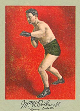 1910 Prizefighters William Rothwell # Boxing & Other Card