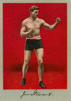 1910 Prizefighters Jim Stewart # Boxing & Other Card
