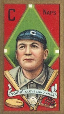 1911 Gold Borders Cy Young #220 Baseball Card