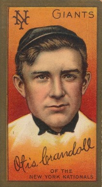 1911 Gold Borders Doc Crandall #42 Baseball Card
